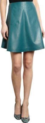 Carven Leather Skirt