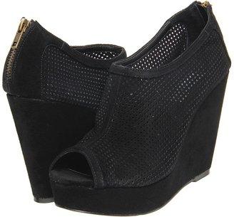 Steve Madden Wincce (Black Suede) - Footwear