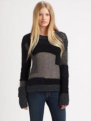 Rebecca Taylor Intarsia Sweater