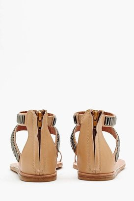 Nasty Gal Lakewood Studded Sandal