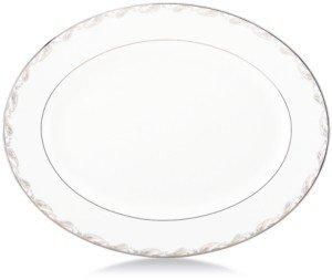 Marchesa by Lenox Dinnerware, Paisley Bloom Oval Platter