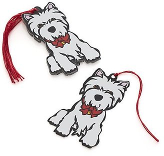 Crate & Barrel Westie Gift Tags.