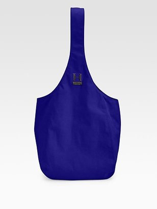 Halston Suede Sac Bag