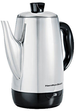 Hamilton Beach 12 Cup Stainless Steel Percolator