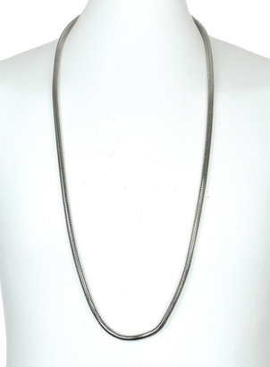 Topman Silver Snake Chain Necklace