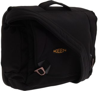 Keen Harrison 15 Check Point Messenger (Black) - Bags and Luggage