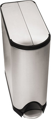 Simplehuman 45L Butterfly Step Trash Can