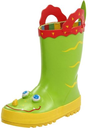 Melissa & Doug Kid's Sunny Patch Augie Alligator Boots,Green,6-7 M US Toddler