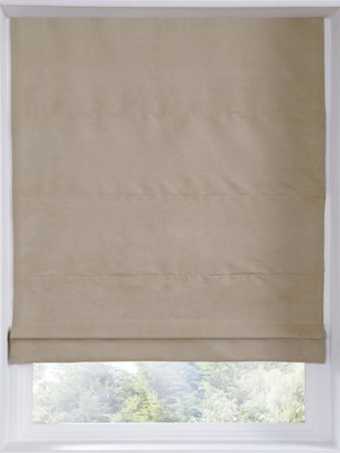 Faux Suede Thermal Blackout Roman Blind