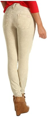 7 For All Mankind The Skinny w/ Zip Pebbled Washed Cord (Vanilla) - Apparel