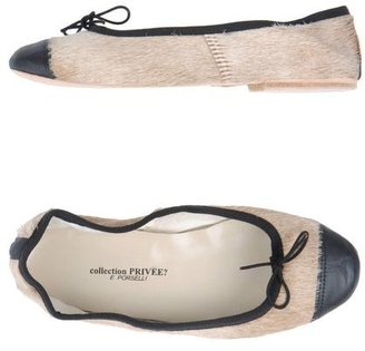 Collection Privée? FOR PORSELLI Ballet flats