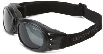 Bobster Eyewear Bobster Cruiser 2 Goggles,Black Frame/3 Lenses (Smoked, Amber and Clear),one size