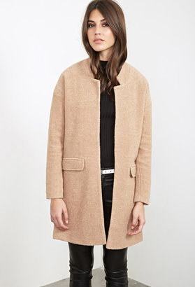 FOREVER 21+ Open-Front Textured Coat $62.80 thestylecure.com