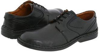 Josef Seibel Walt (Dakota Black) Men's Lace up casual Shoes