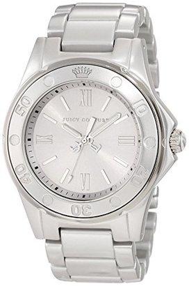 Juicy Couture Women's 1900887 RICH GIRL Silver Aluminum Bracelet Watch $100 thestylecure.com