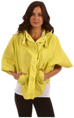 adidas by Stella McCartney Weekender Printed Cape (Magic Yellow S10) - Apparel