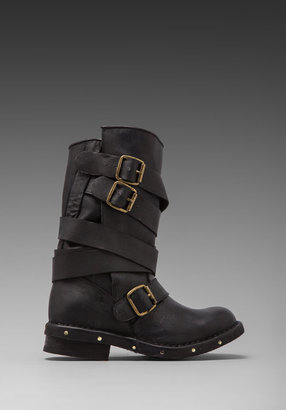 Jeffrey Campbell Brit Leather Moto Boot