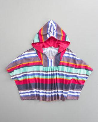 Splendid Littles Pensacola Striped Poncho, Sizes 4-6X