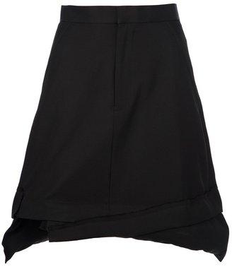 Comme des Garcons flared skirt