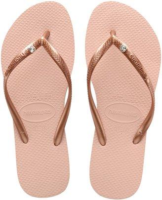 Havaianas 'Slim Crystal Glamour' Flip Flop