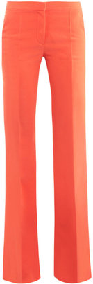 Stella McCartney Bedford fluid trousers