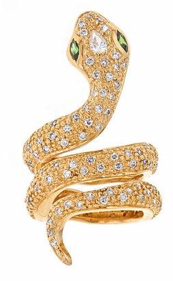 Melinda Maria Python Pave Ring