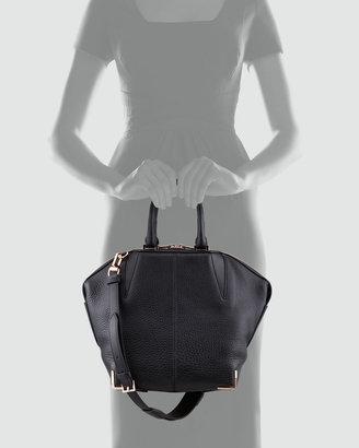 Alexander Wang Small Emile Skeletal Tote Bag, Black/Rose Golden