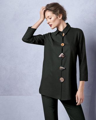 Caroline Rose Stretch-Gabardine Travel Jacket, Women's