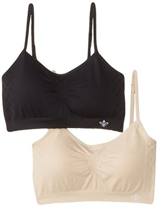 Lily of France Women's Dynamic Duo 2 Pack Seamless Bralette 2171941 $40 thestylecure.com