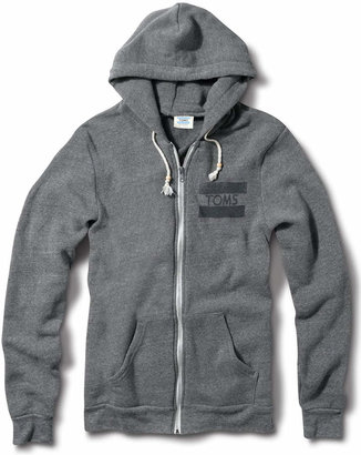 Unisex Grey TOMS Classic Hoodie $48 thestylecure.com