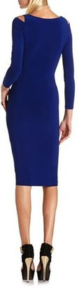 Charlotte Russe Cutout Body-Con Midi Dress