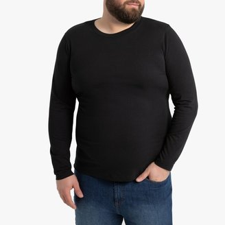 La Redoute COLLECTIONS PLUS Long-Sleeved Crew Neck T-Shirt