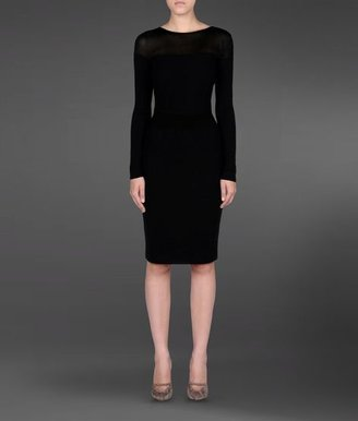 Emporio Armani Knit Dress With Low Back