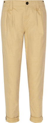 Burberry Stretch cotton-twill pants