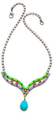 Tom Binns Shadow Play Crystal Necklace