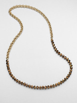 Florian Beaded Chain Link Necklace