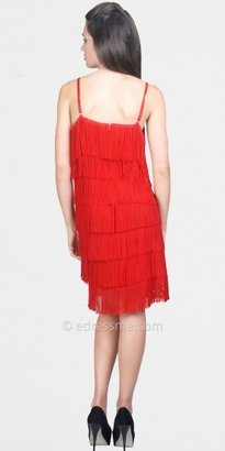 eDressMe Red Flapper Dress