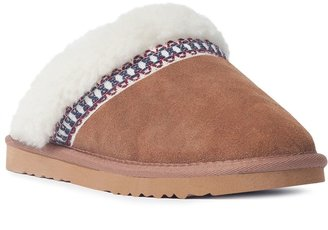 Muk Luks Dawn Women's Suede Scuff Slippers