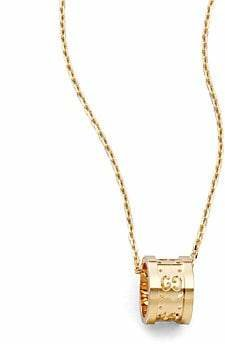 Gucci Women's Icon Twirl 18K Yellow Gold Pendant Necklace