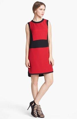 Vince Camuto Colorblock Shift Dress