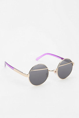 Urban Outfitters In The Clear Round Sunglasses