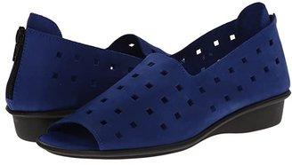 Sesto Meucci Evonne (Bluette Nubuck) Women's Sandals