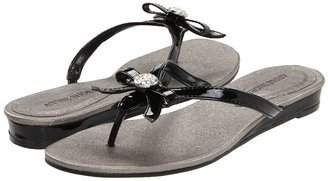Annie Adorable (Black Patent) - Footwear