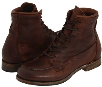 Walk-Over Vanessa Moc Toe Lace-Up (Chocolate) - Footwear