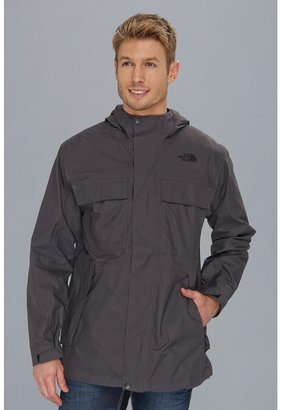 The North Face Stillwell Rain Jacket (Graphite Grey/TNF Black) - Apparel
