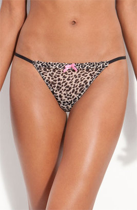 Betsey Johnson Adjustable Ruffle Thong (3 for $30)