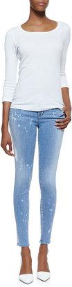 J Brand Jeans 620 Mid-Rise Zephyr Super Skinny Jeans