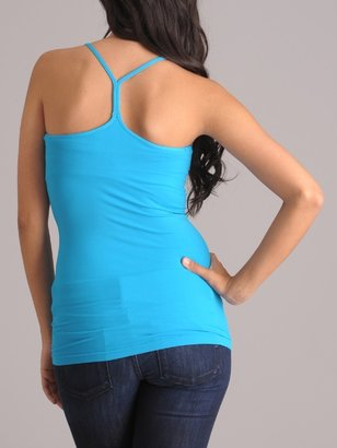 Luxe Junkie Seamless Padded Racerback Cami