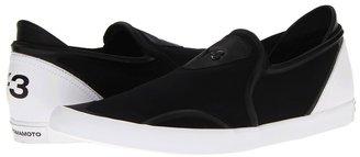 Yohji Yamamoto Slip On (Black/Black/Running White) - Footwear