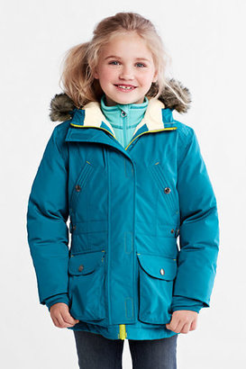 Lands' End Little Girls' Expedition Waterproof Down Parka